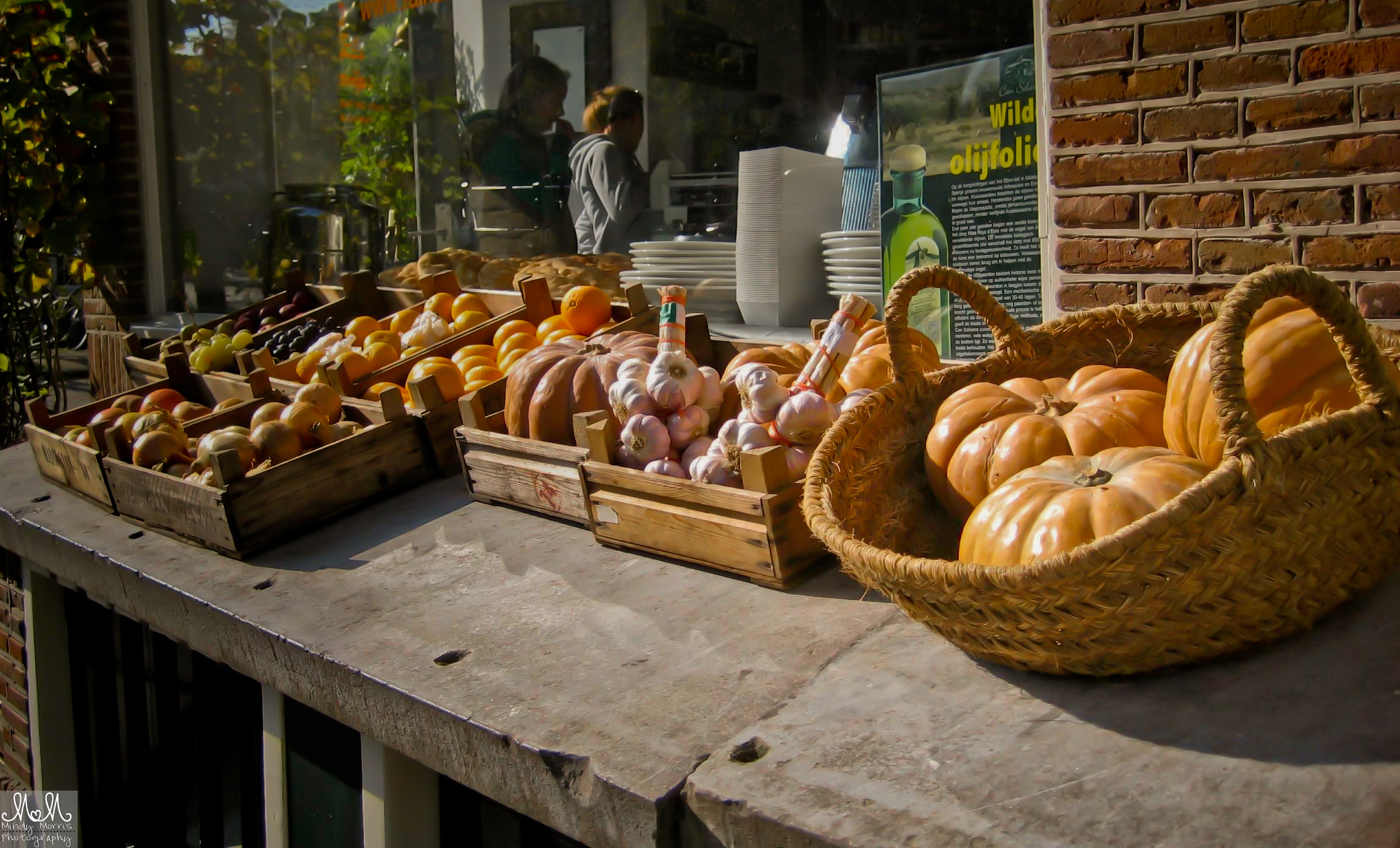 Pumpkin in Amsterdam, street market
