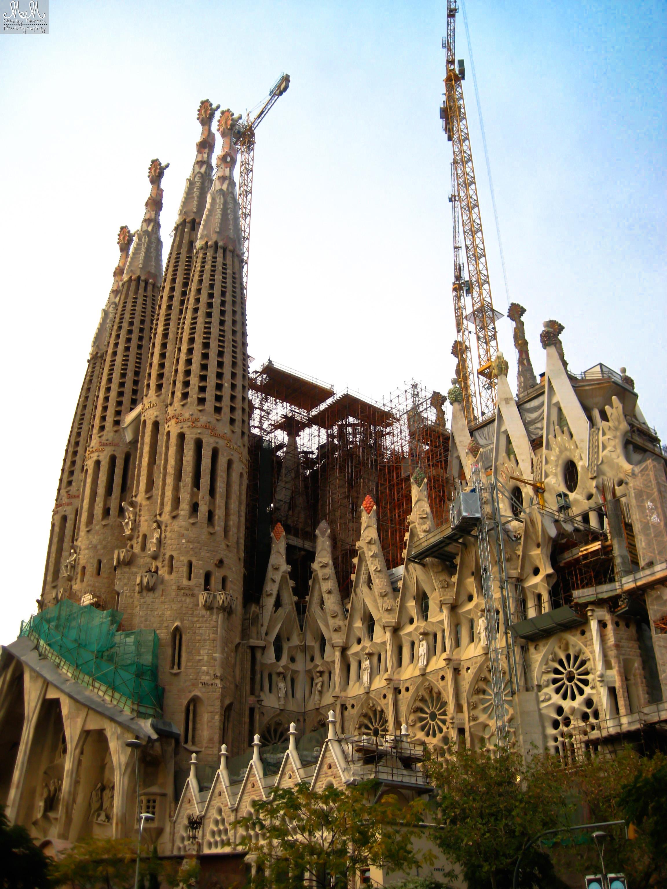 Barcelona, Gaudi, Sagrada Familia