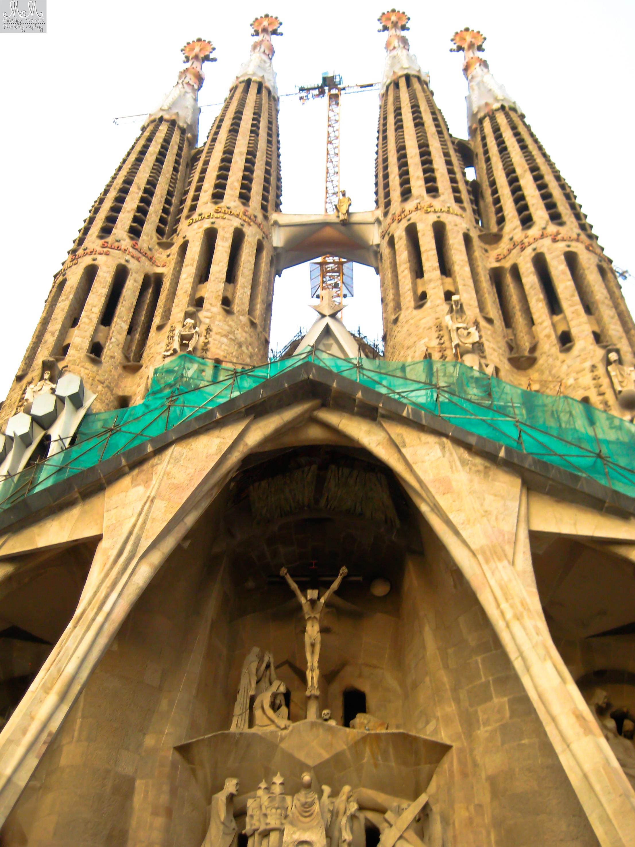 Sagrada Familia, Barcelona, Gaudi