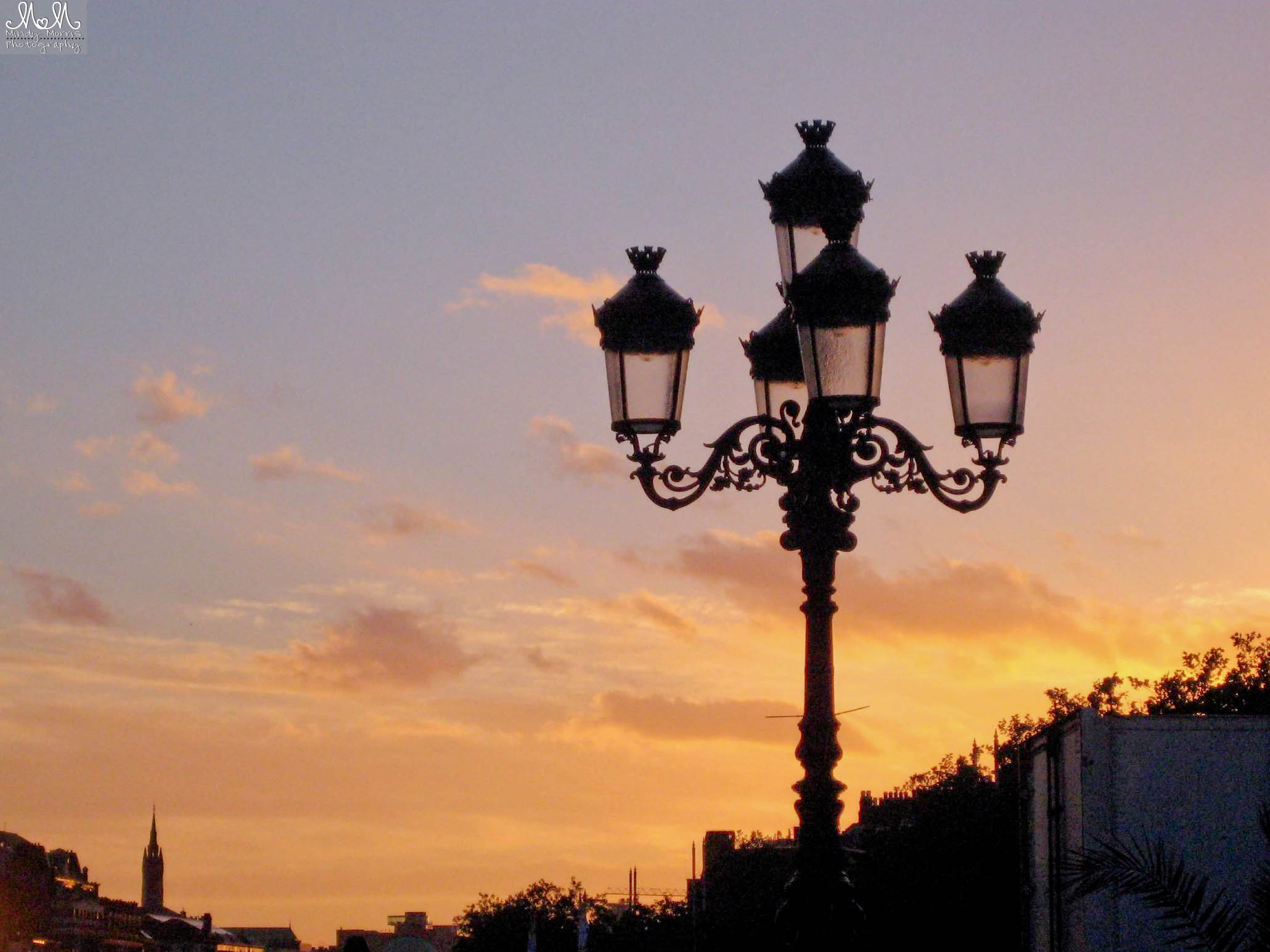 Lamp Post Dublin, Sunset in Dublin, Things to do In Dublin