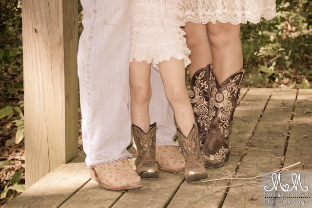 Family Photography Cowboy Boots