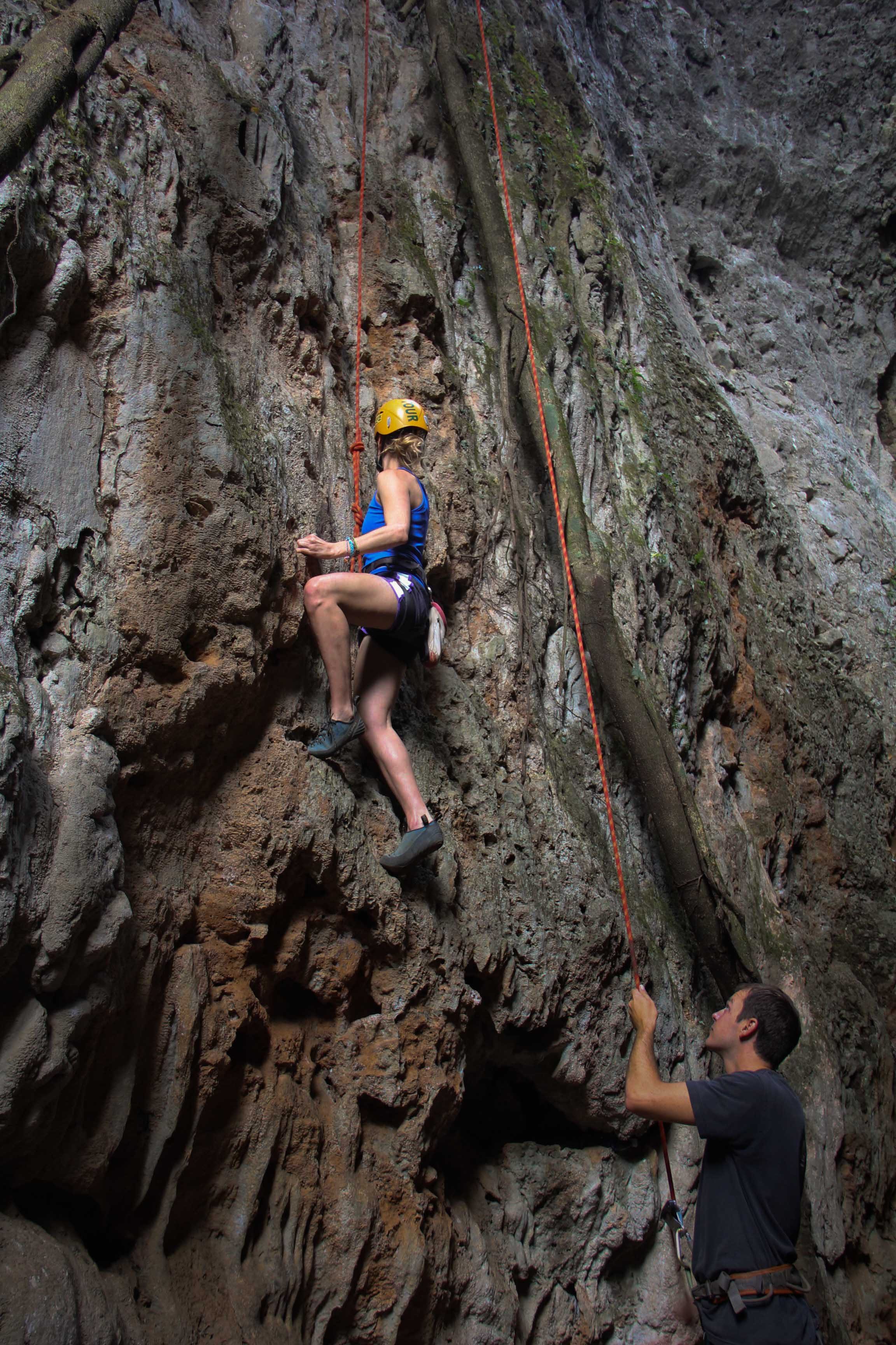 Climbing and Caving-13