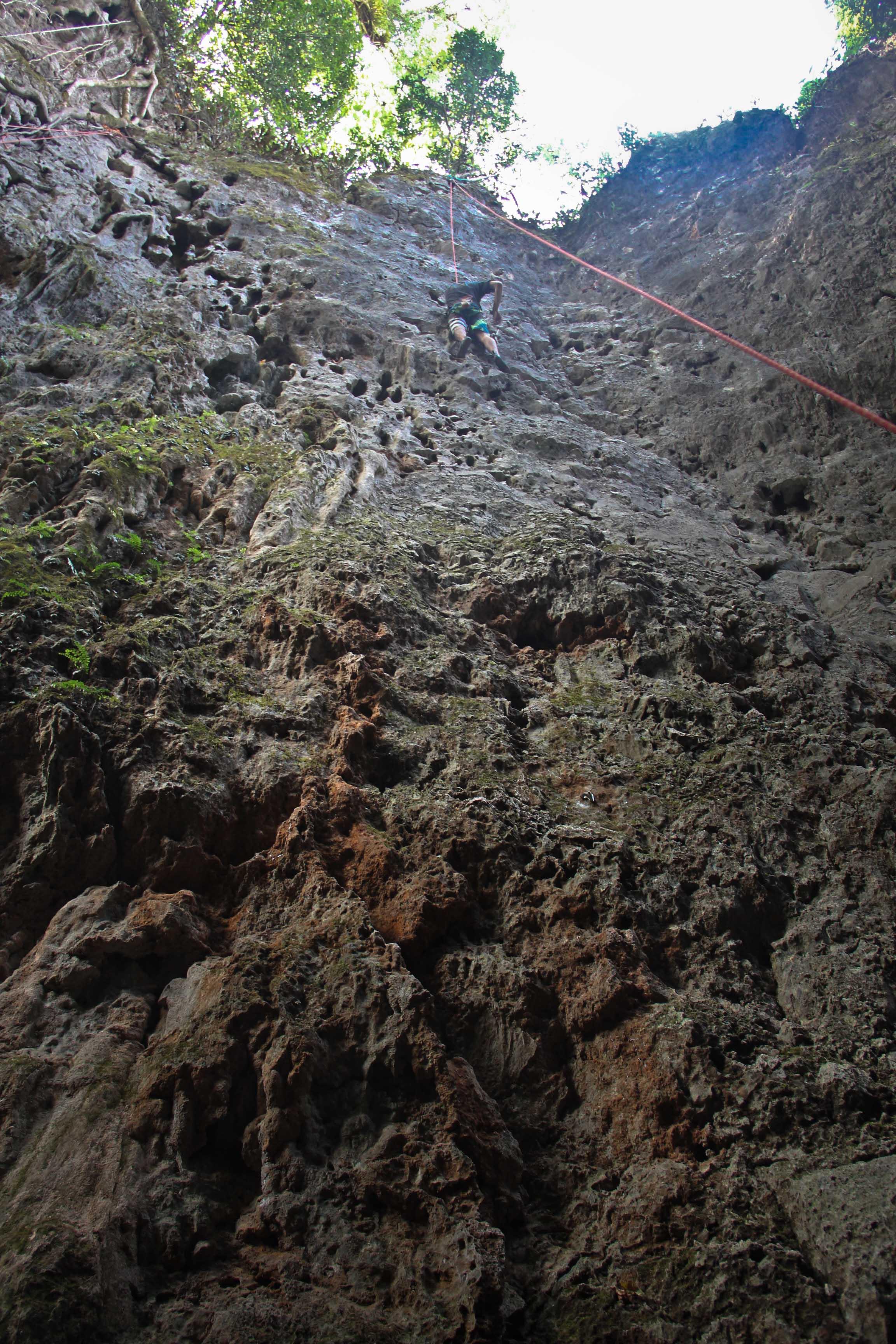 Climbing and Caving-16