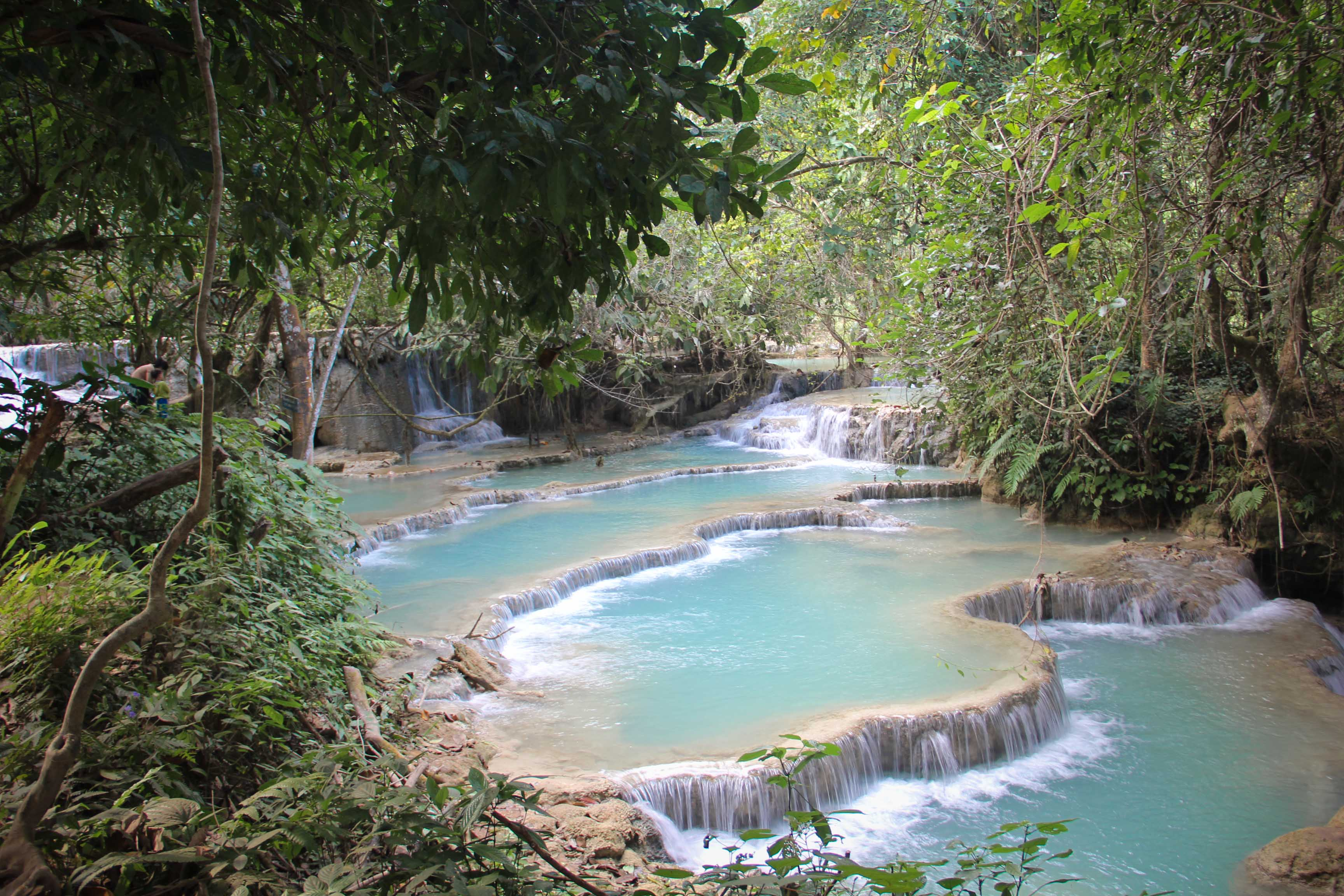 Kuang Si Falls | Walking Through Wonderland