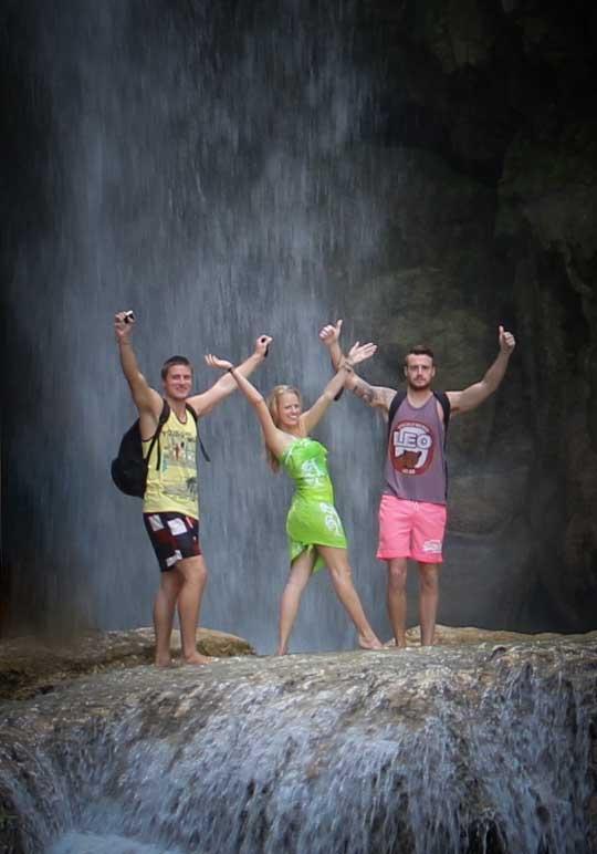 Kuang Si Falls   Walking Through Wonderland