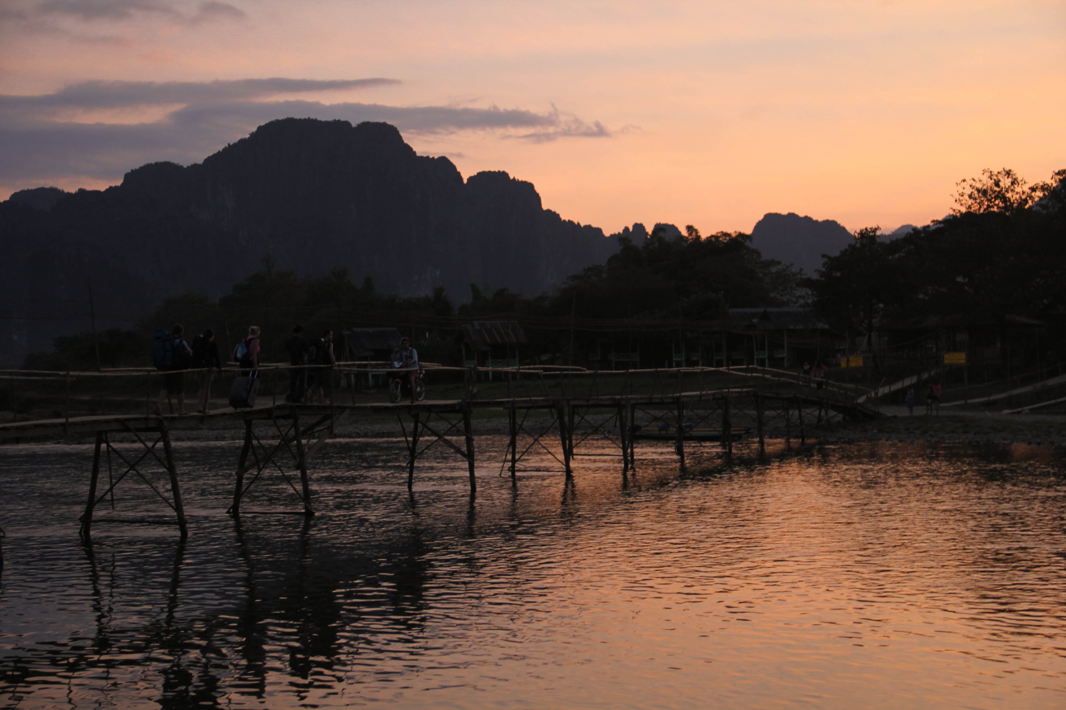 Vang Vieng Sunset Blog-10