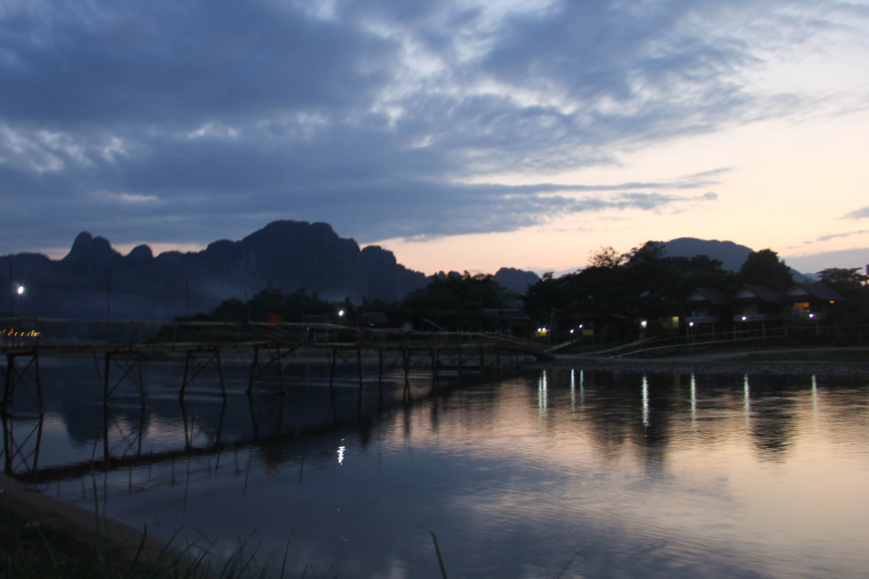 Vang Vieng Sunset Blog-11