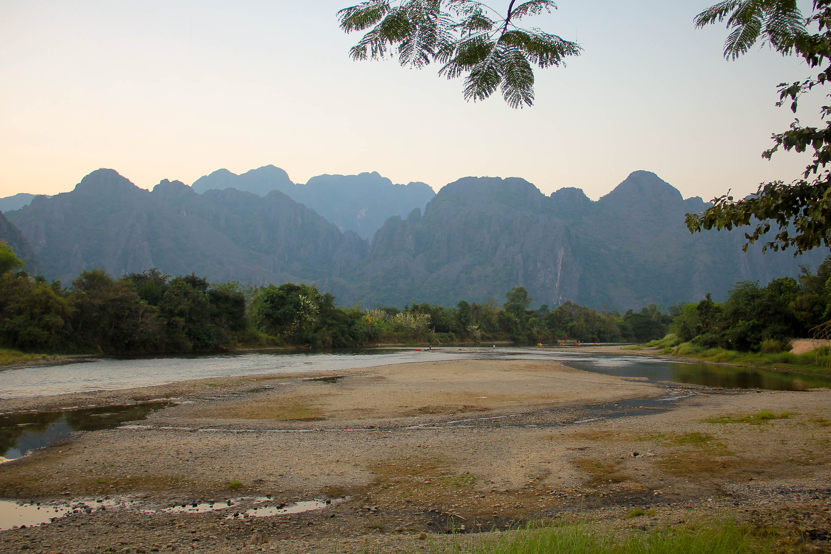 Vang Vieng Sunset Blog-3
