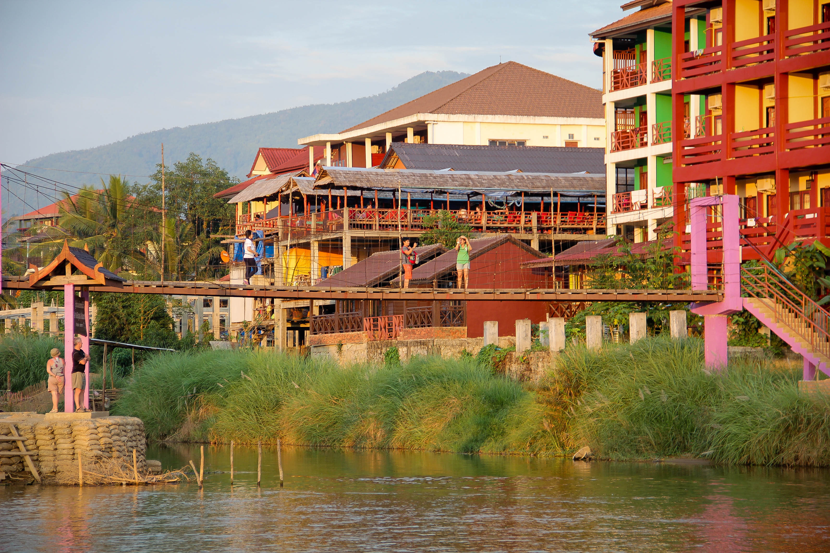 Vang Vieng Sunset Blog-5