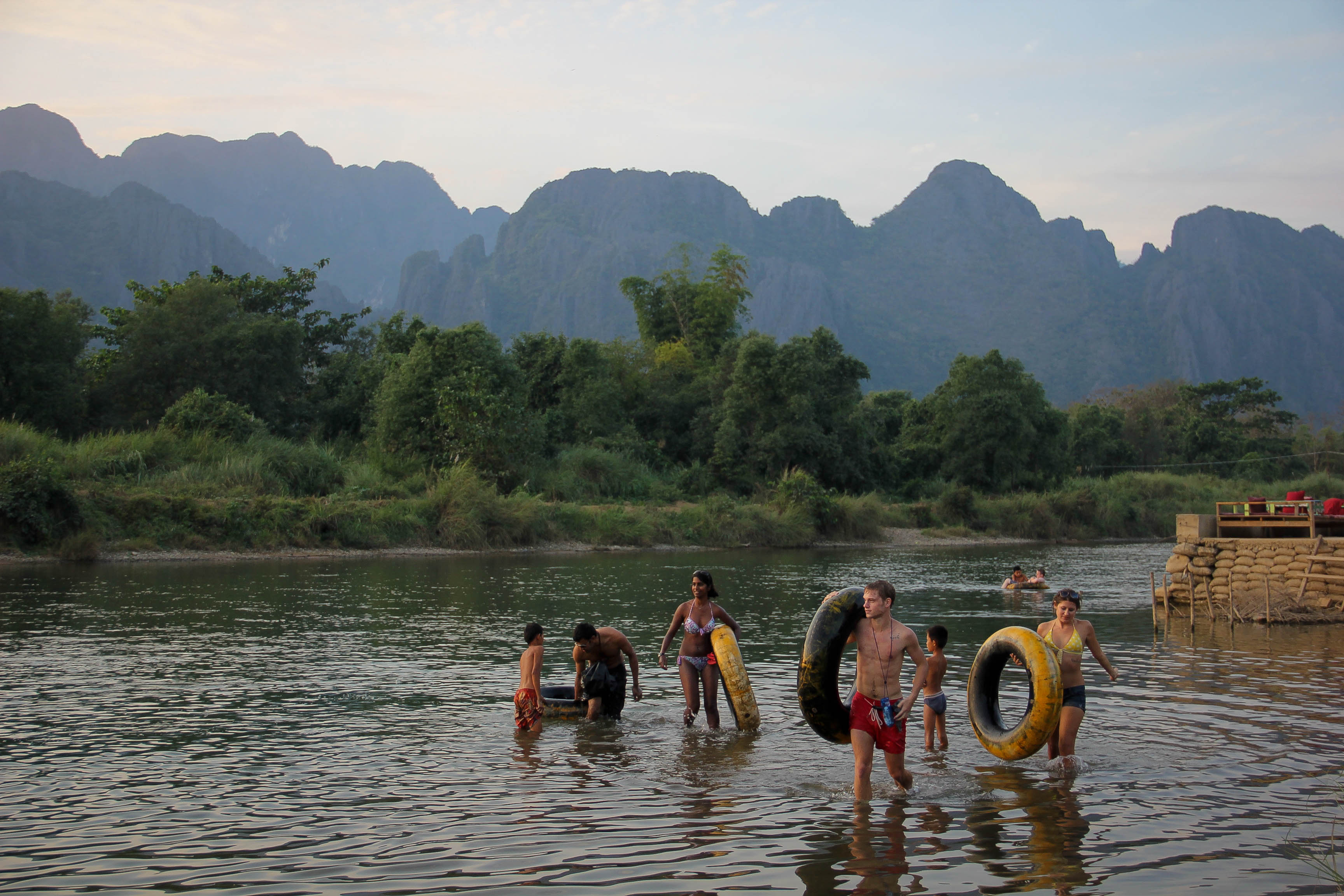 Vang Vieng Sunset Blog-7