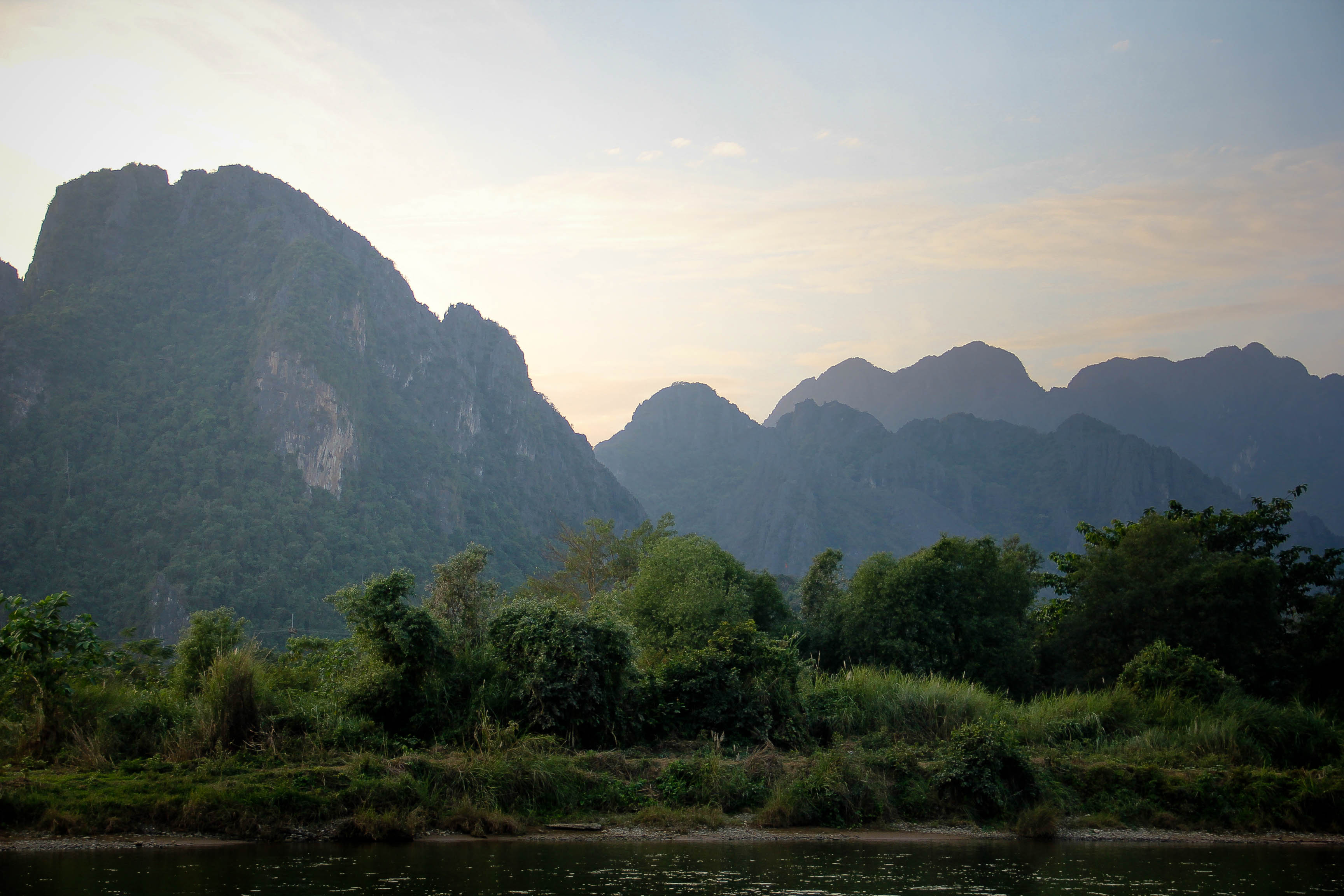 Vang Vieng Sunset Blog-8