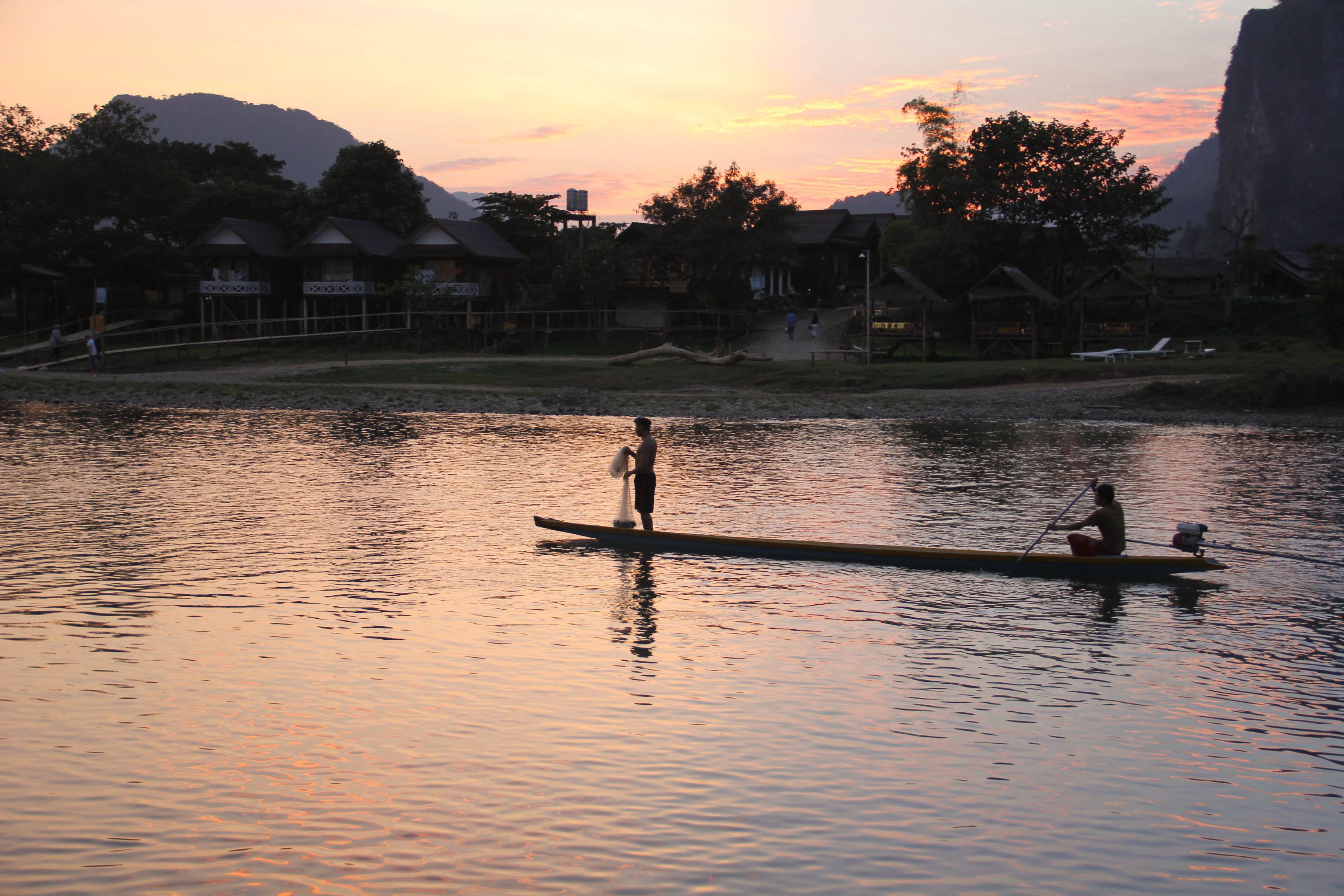 Vang Vieng Sunset Blog-9