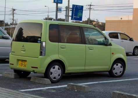 Car Colors in Okinawa | Walking Through Wonderland